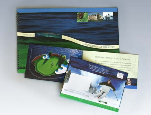 Mill River Condo Mailer and Coffee Table Book
