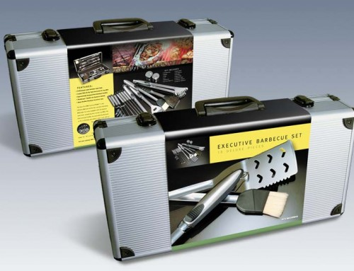 BBQ Set Packaging