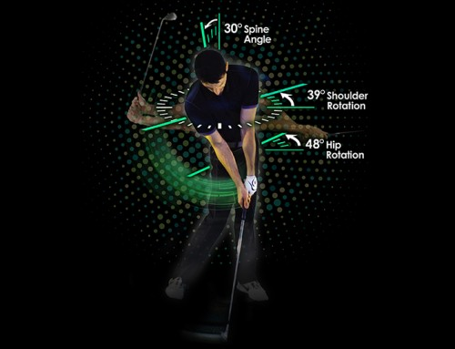 Golfer Digital Illustration/Infographic